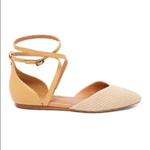 UGG Pointed Toe Flats with Ankle Strap